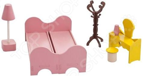 Набор мебели для Барби PAREMO «Спальня» кукольные домики и мебель paremo набор мебели спальня