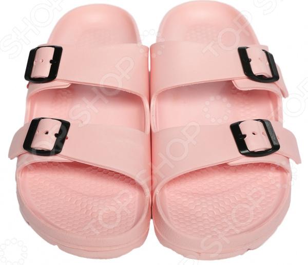 Шлепанцы Mon Ami «Теплая волна». Цвет: розовый обувь тамарис летняя