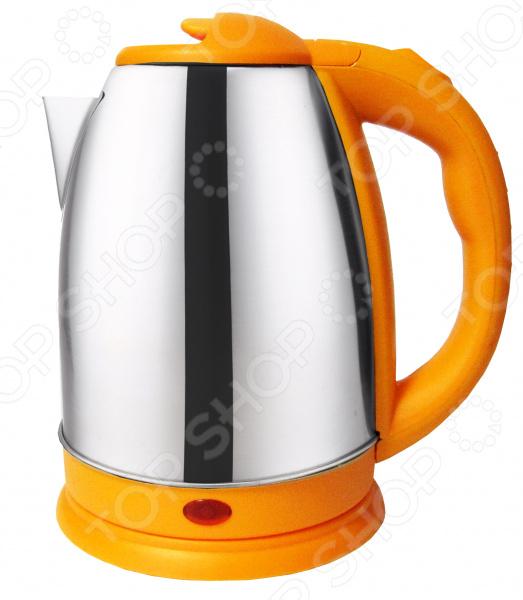 Чайник электрический «Радуга»  Защита от работы без воды..  Корпус выполнен из нержавеющей стали...