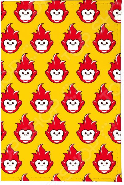 Визитница Mitya Veselkov «Много огненных обезьян» визитницы mitya veselkov визитница много поросят на клеточках