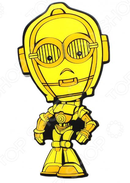 Пробивной светильник 3DlightFX Star Wars C-3PO светильник светодиодный 3dlightfx star wars lead droid 3d