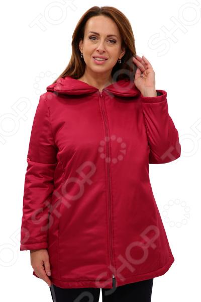Куртка СВМ-ПРИНТ «Восточный ветер». Цвет: брусничный
