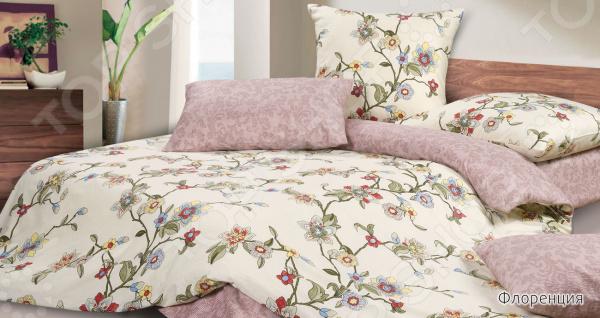 Комплект постельного белья Ecotex «Флоренция» комплект постельного белья ecotex 2 х сп сатин сюссан кгмсюссан