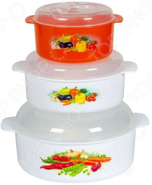 Набор контейнеров для СВЧ Полимербыт SGHPBKP29