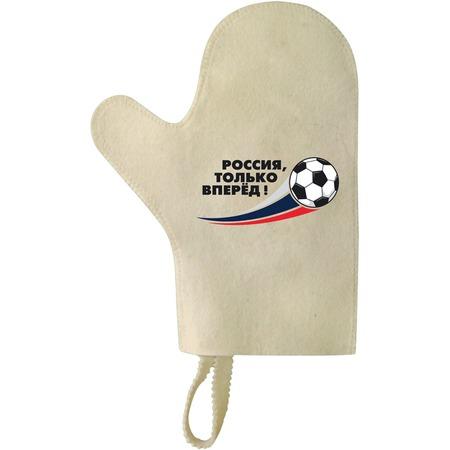 Купить Рукавица для бани Hot Pot «Россия, только вперед» 41254