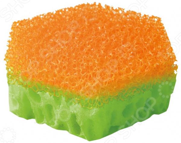Набор губок для мытья посуды Хозяюшка «Мила: Тефлоша» набор для мытья посуды topperr 3413