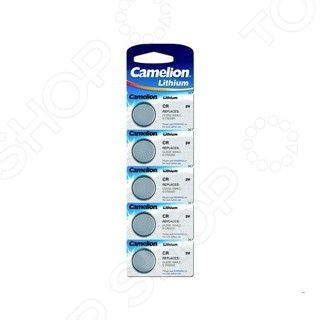 Набор батареек литиевых Camelion CR2032 BL-5