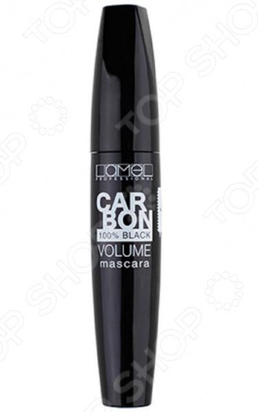 Тушь для ресниц Lamel professional Carbon туши relouis тушь professional с эффектом накладных ресниц