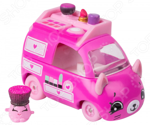 Машинка с фигурками Moose Cutie Car Beauty Van машинка moose cutie car puff rusher