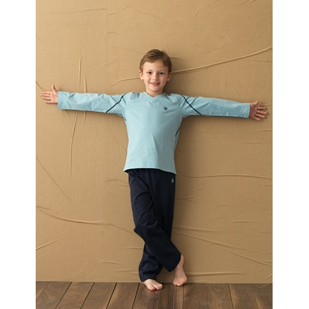 Купить Пижама для мальчика BlackSpade 7071. Цвет: светло-голубой