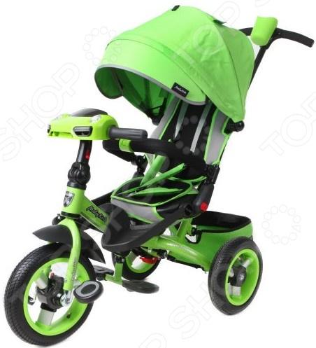 Велосипед трехколесный Moby Kids Leader 360° 12x10 AIR Car