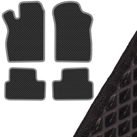 Купить Комплект из 4-х ковриков в салон автомобиля с левым рулем SKYWAY ВАЗ-2109-099, 2113-2114-2115 (1987)