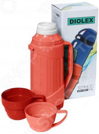 Термос Diolex DXP-1000-R термос diolex dxp 1000 1 g 1л зеленый
