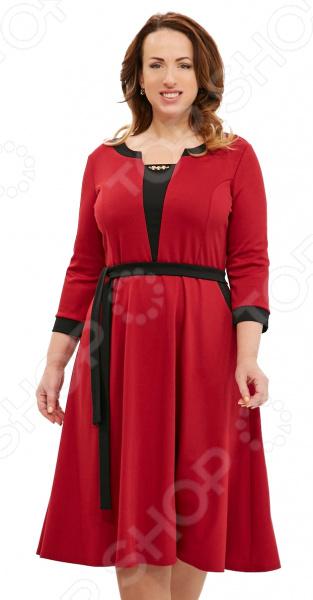 Платье Матекс «Счастливая женщина». Цвет: бордовый платье матекс счастливая женщина цвет синий