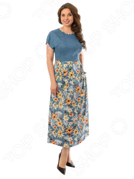 Платье Алтекс «Беатрис». Рисунок: подсолнух