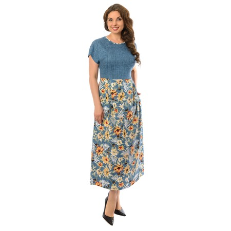 Купить Платье Алтекс «Беатрис». Рисунок: подсолнух