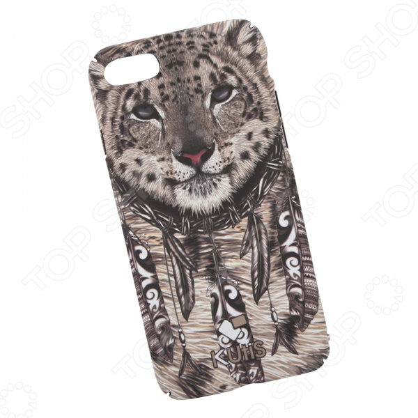 Чехол для iPhone 7/8 KUtiS Animals OK-5 «Гепард» аксессуар