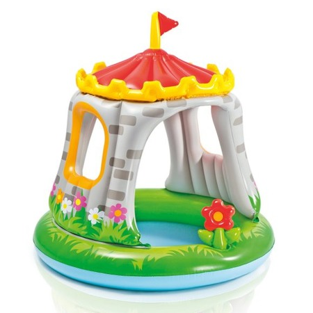 Купить Бассейн надувной детский Intex «Замок»