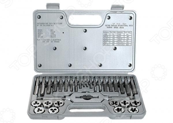 Набор метчиков и плашек MATRIX MASTER 77337  набор метчиков и плашек м3 м16 36 предм matrix master 77339