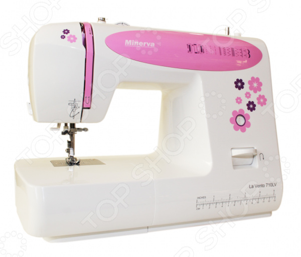 Швейная машина Minerva M-710LV швейная машина minerva la vento 710lv белый розовый