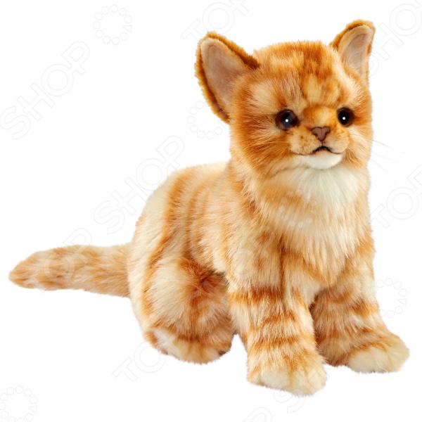 Мягкая игрушка Hansa «Котенок бежевый» мягкие игрушки plants vs zombies котенок 15 см