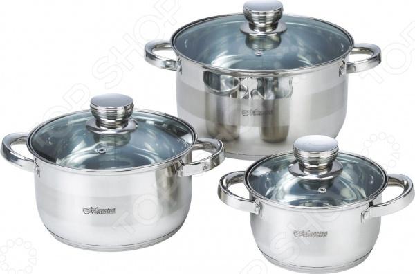 Набор посуды Maestro MR-2220-6L набор посуды maestro mr 2220 6l