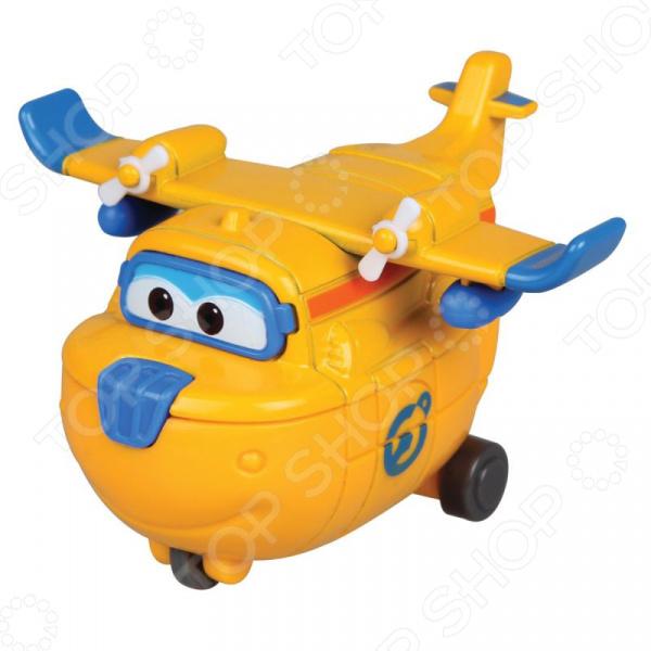 Самолет игрушечный Super Wings «Донни» игровые наборы super wings набор аэропорт