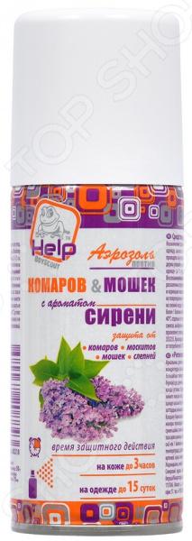 Аэрозоль от комаров и мошек Help «Сирень»
