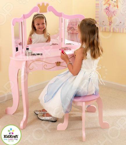 Туалетный столик KidKraft с зеркалом «Принцесса» 1