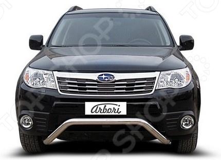 Защита переднего бампера Arbori «мини» для Subaru Forester, 2008-2012 лампа для чтения iculed 5pcs 2008 2012