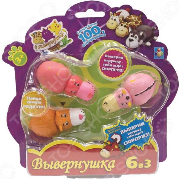 Игрушка 1 Toy «Вывернушка 2в1». В ассортименте