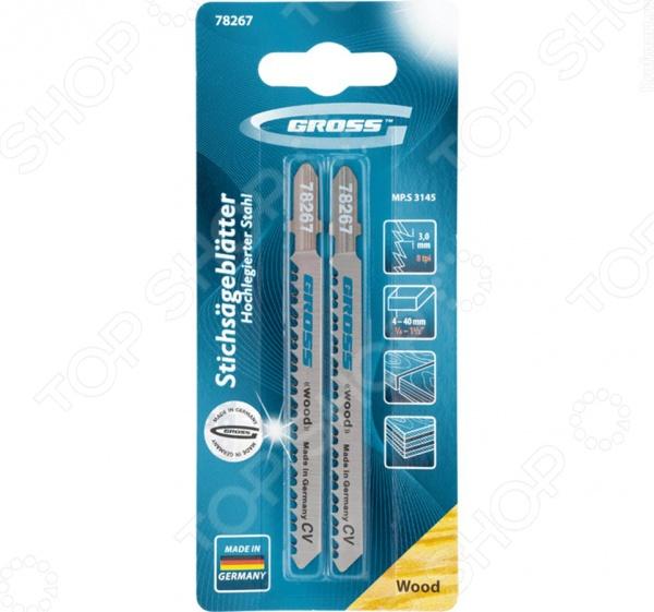 Пилки для электролобзика GROSS 78267