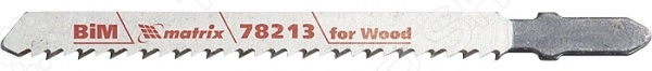 Пилки для электролобзика MATRIX Professional 78213  пилки для электролобзика fit 2 шт 40964