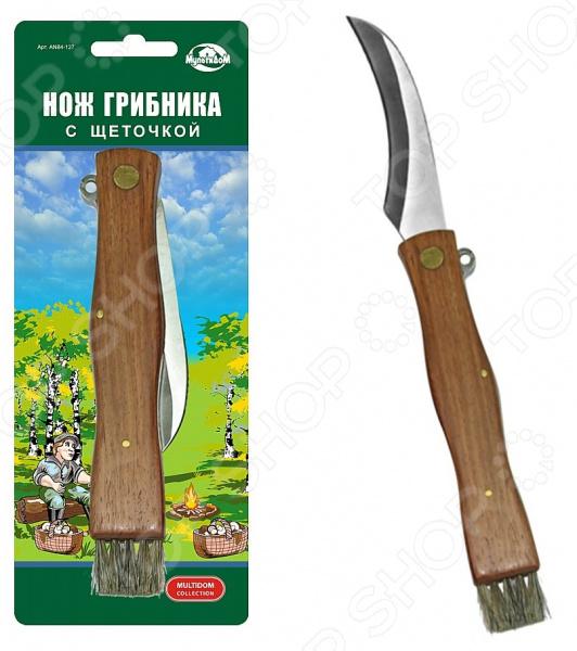 Нож грибника со щеточкой Мультидом AN84-127 полынь настойка 25мл