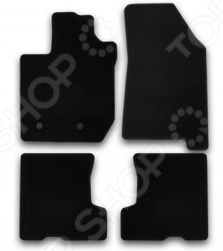 Комплект ковриков в салон автомобиля Klever без ящика LADA Xray 2016 Econom комплект ковриков в салон автомобиля klever nissan almera 2012 econom