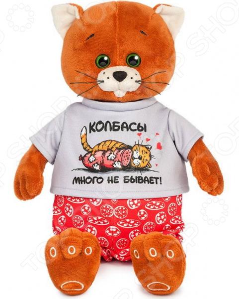 Мягкая игрушка Колбаскин&Мышель «Колбаскин в красных труселях» колбаскин