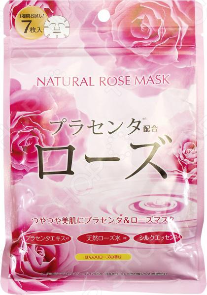Zakazat.ru: Набор тканевых масок для лица Japan Gals с экстрактом розы