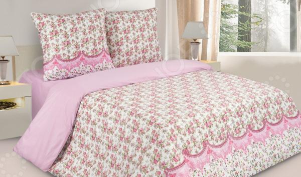 Комплект постельного белья Ecotex «Волшебный сад» комплект постельного белья ecotex марлен