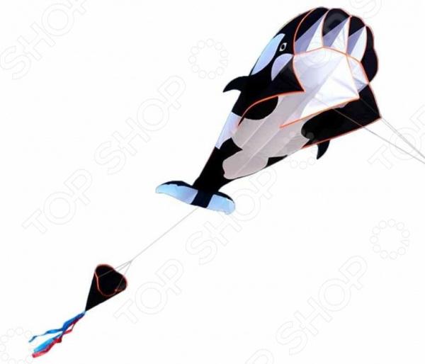 Воздушный змей Bradex «Касатка». Цвет: белый, черный