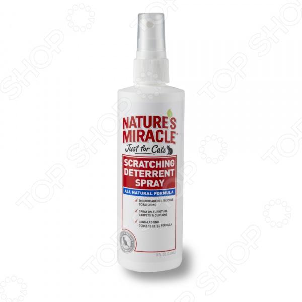 Спрей против царапанья Nature''s Miracle Scratching Deterrent 8in1 средство против царапанья кошками nm jfc scratching deterrent sprayспрей 236 мл