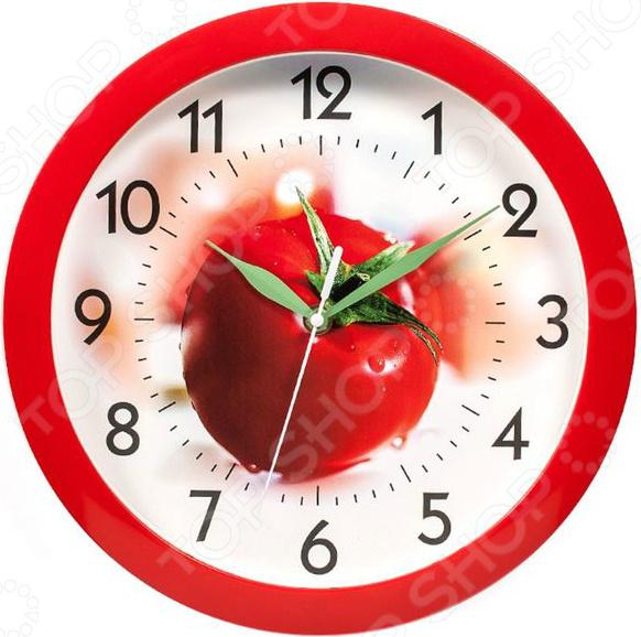 Часы настенные Вега П 1-1/7-57 «Помидор»