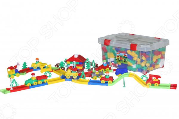 Конструктор игровой POLESIE «Строитель» в контейнере Конструктор игровой POLESIE «Строитель» /488