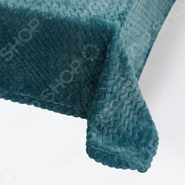 фото Плед Ecotex Modern. Цвет: бирюзовый, купить, цена