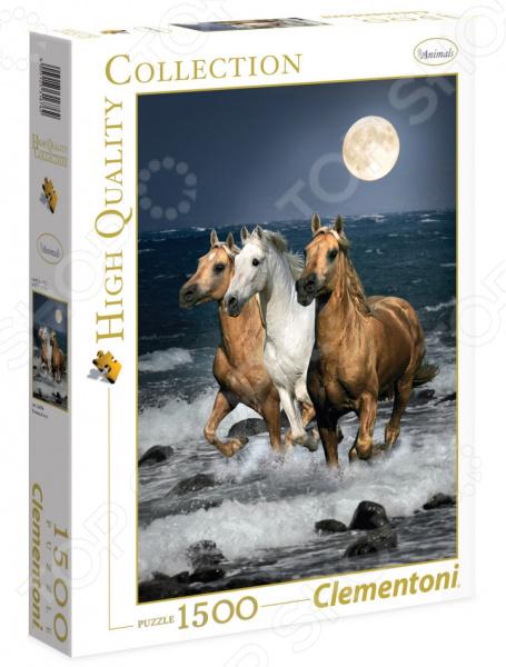 Пазл 1500 элементов Clementoni HQ «Дикие лошади» clementoni пазл hq дикие лошади 1500
