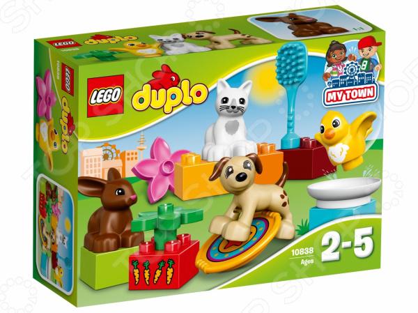 Конструктор для малышей LEGO Duplo «Домашние животные» конструктор lego duplo домашние животные 10838