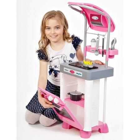 Купить Кухня детская с аксессуарами Coloma Y Pastor Carmen №4 с варочной панелью и духовым шкафом
