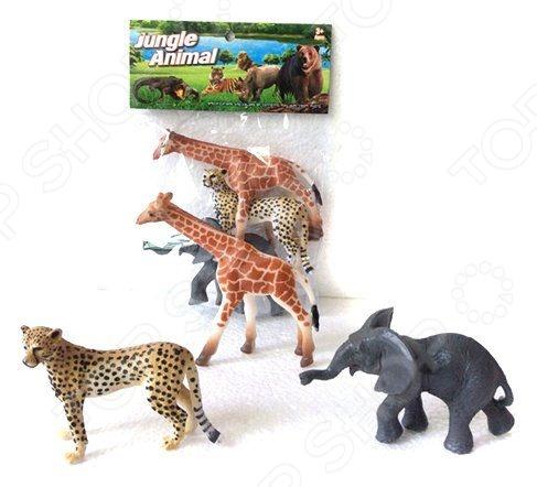 Набор фигурок Shantou Gepai 2A003 Jungle animal