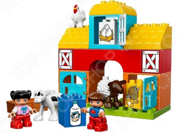 Конструктор LEGO Duplo Моя первая ферма lego duplo конструктор моя первая ферма