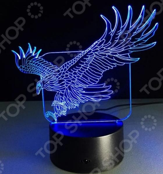 Светильник 3D «Орел»