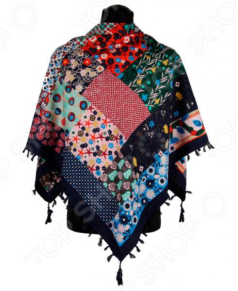 Платок Bona Ventura PL.XL-H.Pr.18 недорогой платок на шею для женщин